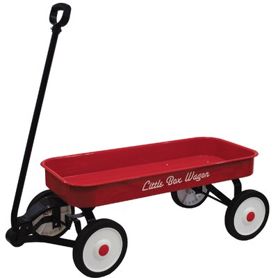 Little Box Metal Wagon Ride-On by Grand Forward