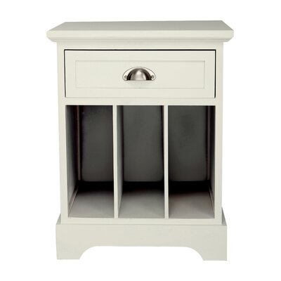 Newport Partitioned End Table by Gallerie Decor