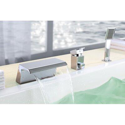 Single Handle Deck Mount Bath Tub Faucet Product Photo