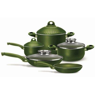 Terre di Siena Bio-Ceramix Nonstick 9-Piece Cookware Set by Pensofal
