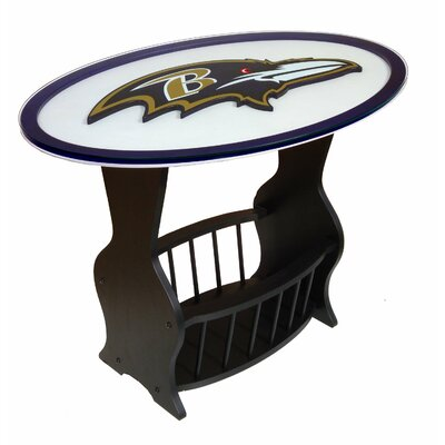 Fan Creations Nfl Logo End Table Amp Reviews Wayfair