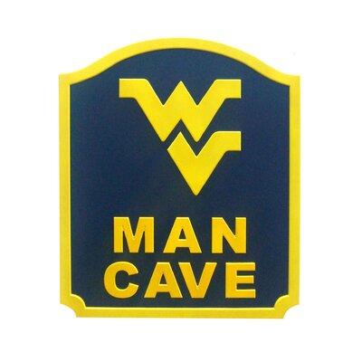 Fan Creations NCAA Man Cave Graphic Art Shield Plaque