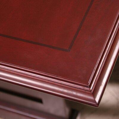 "Regency Prestige Double Pedestal ""L"" Executive Desk"