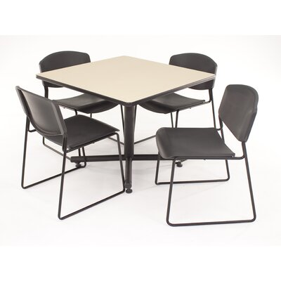 "Regency Hospitality 4 Zeng 36"" Square Gathering Table"