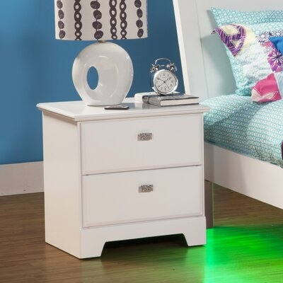Sandberg Furniture Hailey 2 Drawer Nightstand 51822