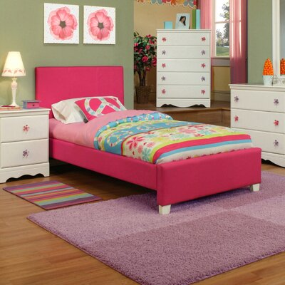 Sandberg Furniture Dulce Panel Customizable Bedroom Set 52076 52075