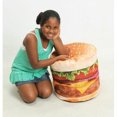 Hamburger Bean Bag Chair by Wow Works LLC