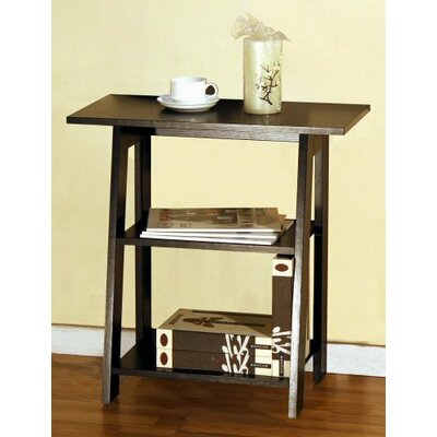Home Concept Inc Ladder Chairside End Table