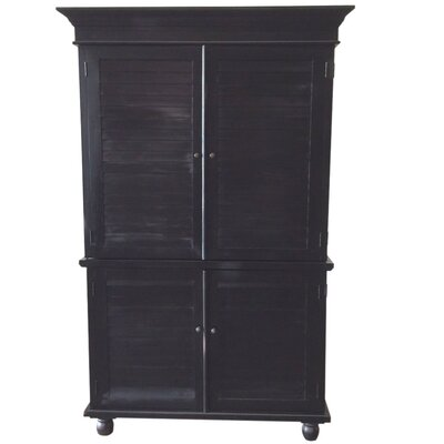 Louvered Armoire Product Photo
