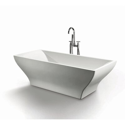 "Ash 70"" x 31.5"" Soaking Bathtub Product Photo"