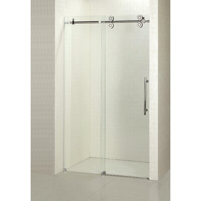 "Hasper 79"" x 60"" Sliding Shower Door Product Photo"