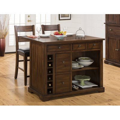 Cooke County 3 Piece Kitchen Island Set Product Photo