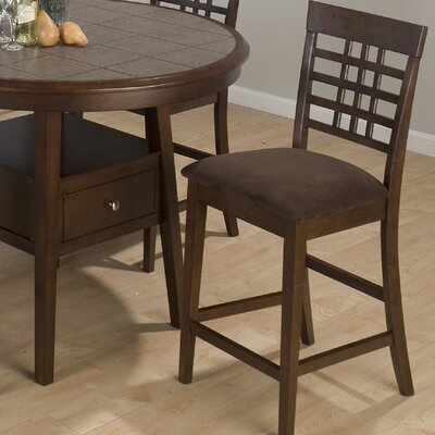 Weave Bar Stool with Cushion by Jofran