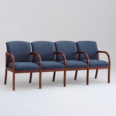 Lesro Weston Four Seats with Wood Leg
