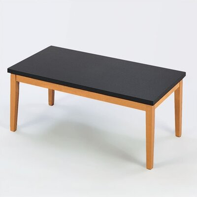 Lesro Lenox Coffee Table with Black Melamine Top