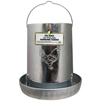 Hanging Metal Poultry Feeder by Harris Farms
