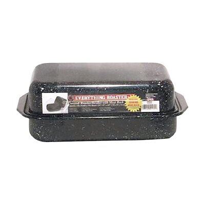 """Columbian Home Products 13"""" Covered Everything Roaster with Rack"""