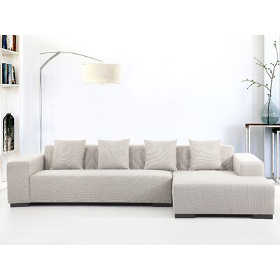 Modern Sectional Sofa by Beliani