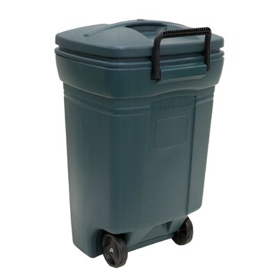 United Solutions 45-Gal Rubbermaid Wheeled Trash Can & Reviews