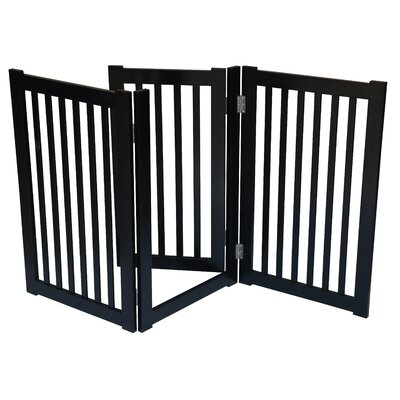 3 Panel Free Standing Pet Gate by MDOG2