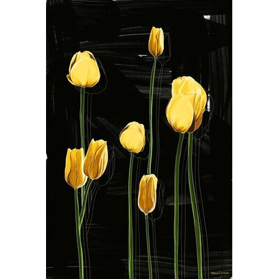Tulips Painting Print on Canvas by Maxwell Dickson