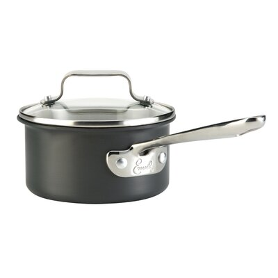 Hard-Anodized 1-qt. Sauce Pan with Lid by Emerilware