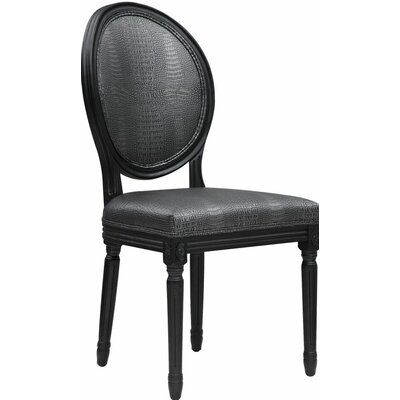 Philip Croc Side Chair by TOV