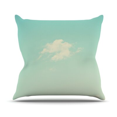 Cloud 9 by Libertad Leal Sky Throw Pillow by KESS InHouse