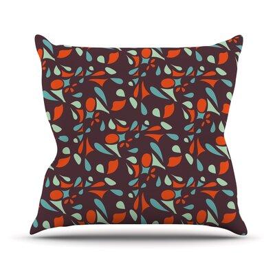 Retro Tile Throw Pillow by KESS InHouse