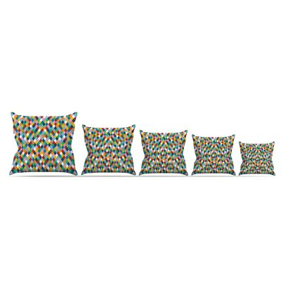 Harlequin Throw Pillow by KESS InHouse