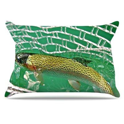 KESS InHouse Catch Pillowcase