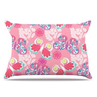 Baroque Butterflies Pillowcase by KESS InHouse