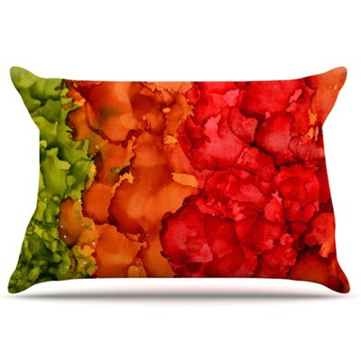 KESS InHouse Fall Splatter Pillowcase