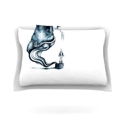 Hot Tub Hunter by Graham Curran Pillow Sham by KESS InHouse