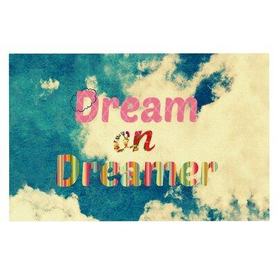 Dream On by Robin Dickinson Fleece Throw Blanket by KESS InHouse