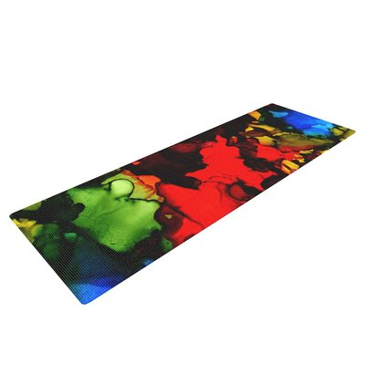 Beach Bum by Claire Day Yoga Mat by KESS InHouse