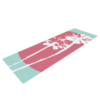 Cali Sunset by Bree Madden Yoga Mat by KESS InHouse