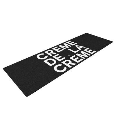 Creme De La Creme by Geordanna Cordero-Fields Yoga Mat by KESS InHouse