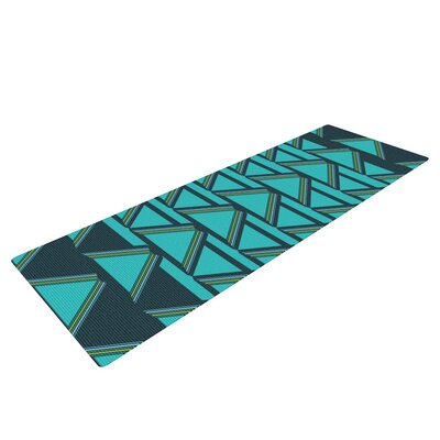 Deco Angles by Nina May Yoga Mat by KESS InHouse