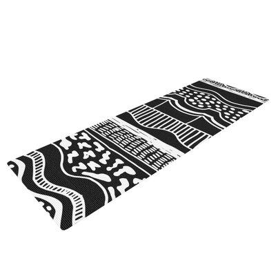 Abiodun Tribal by Vasare Nar Yoga Mat by KESS InHouse