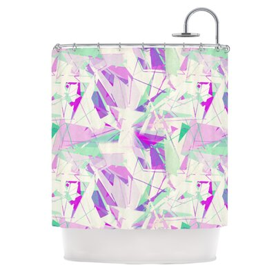 Shatter Shower Curtain by KESS InHouse