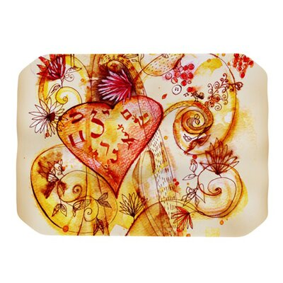 Tree of Love Placemat by KESS InHouse