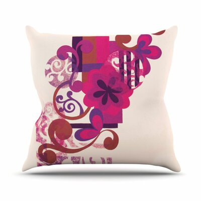 Lilac by Louise Machado Throw Pillow by KESS InHouse