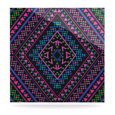 Neon Pattern by Nika Martinez Graphic Art Plaque by KESS InHouse