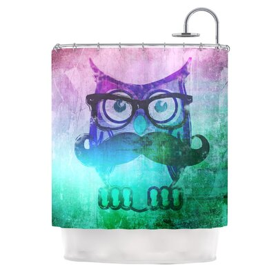 Showly Shower Curtain by KESS InHouse