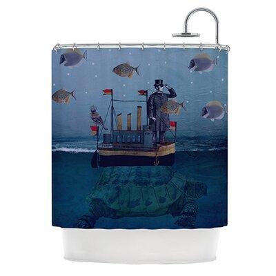 KESS InHouse The Voyage Shower Curtain