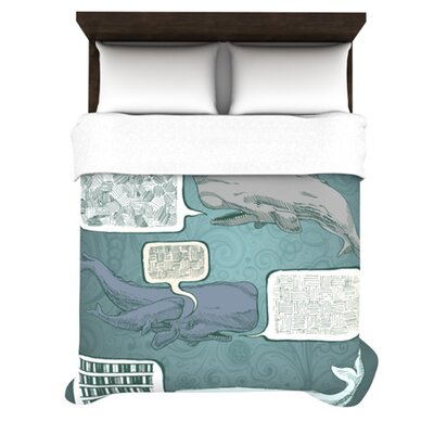 Whale Talk Bedding Collection by KESS InHouse