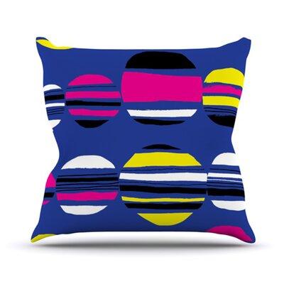Retro by Emine Ortega Throw Pillow by KESS InHouse