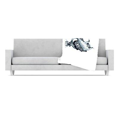 KESS InHouse Owl Throw Blanket