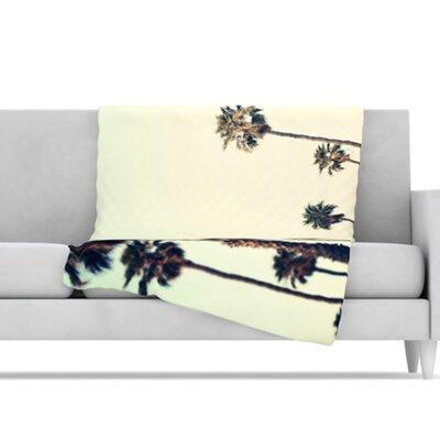 KESS InHouse California Microfiber Fleece Throw Blanket